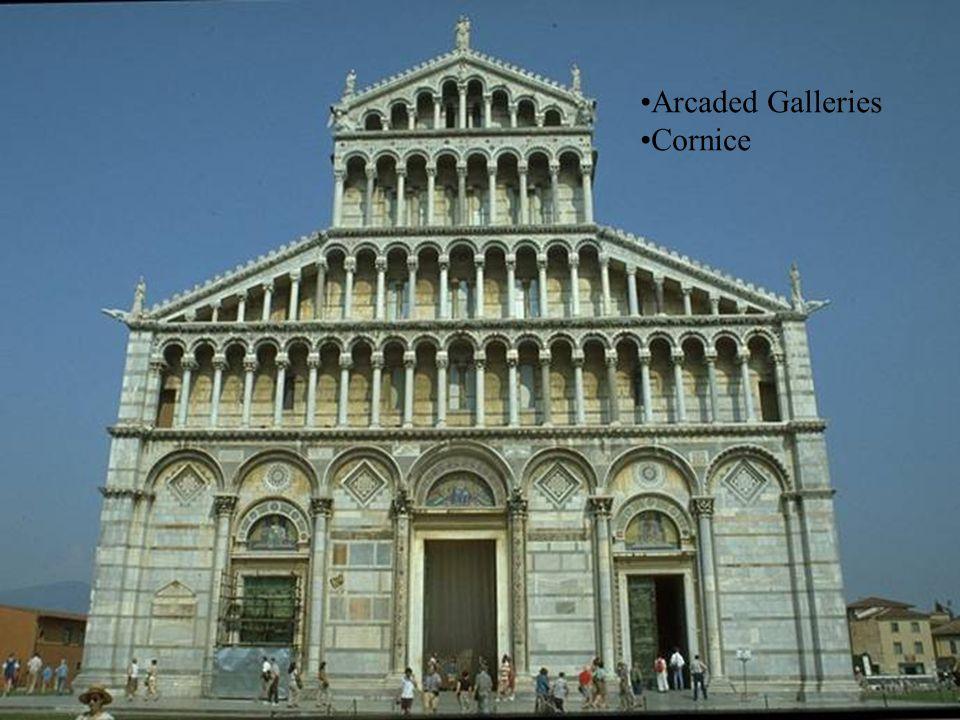 Arcaded Galleries Cornice