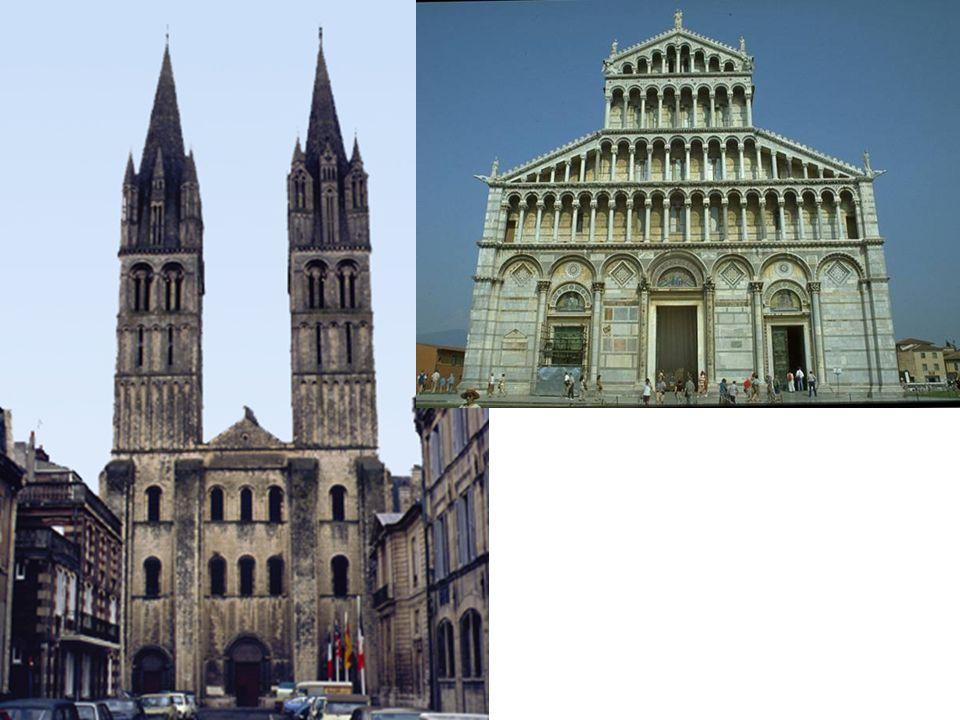 Abbey Church of St.-Etiénne, Caen, France, 1067-1120 Tripartite division Buttresses
