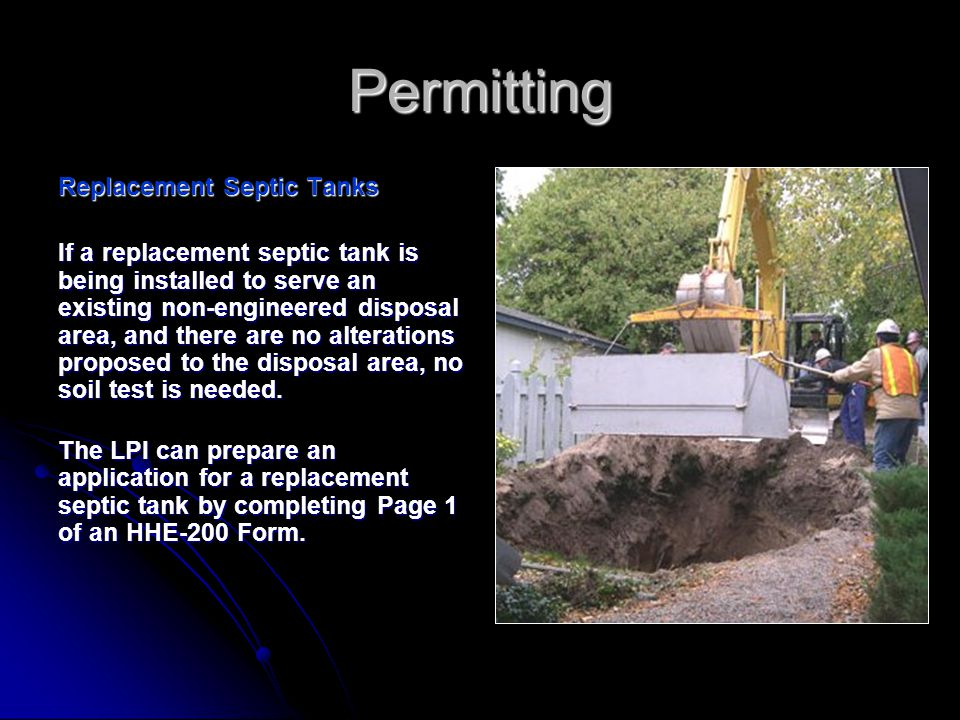 Why does a holding tank need a site evaluation but a vault privy doesn't.