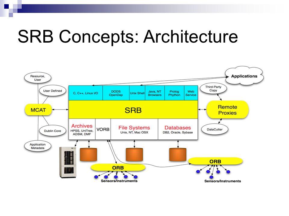 SRB Concepts: Architecture