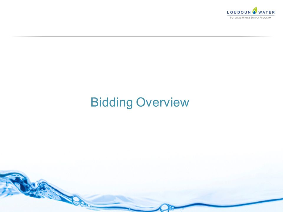 Bidding Overview