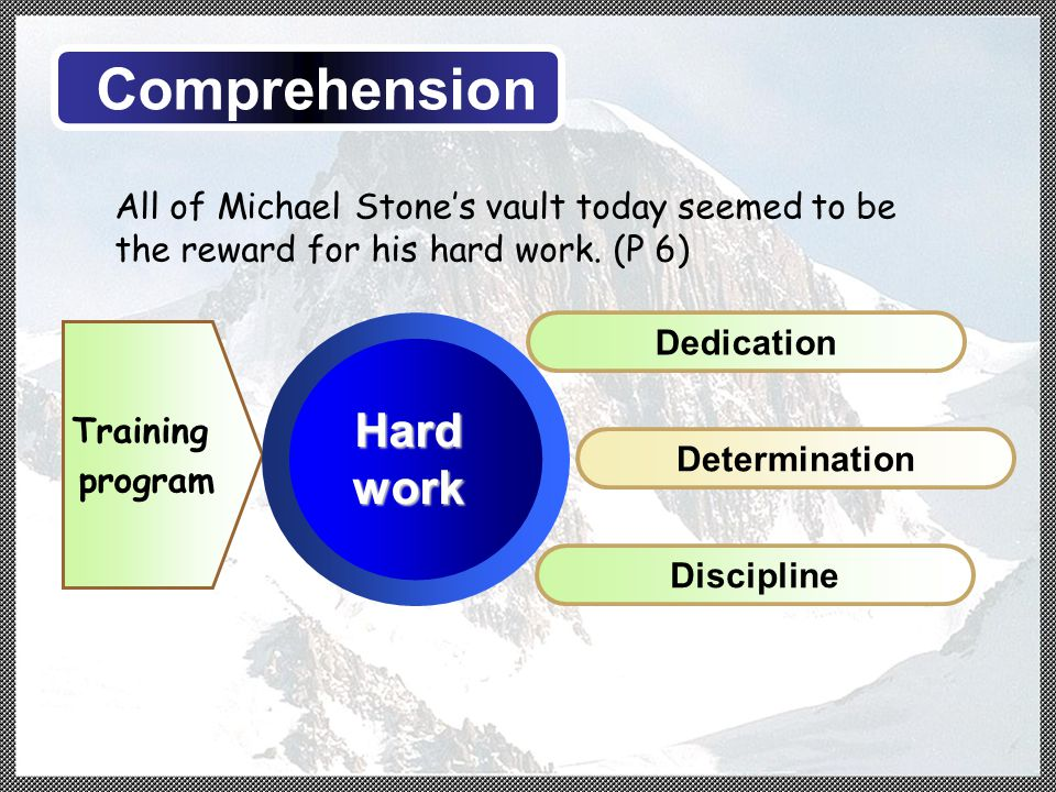 All of Michael Stone's vault today seemed to be the reward for his hard work.