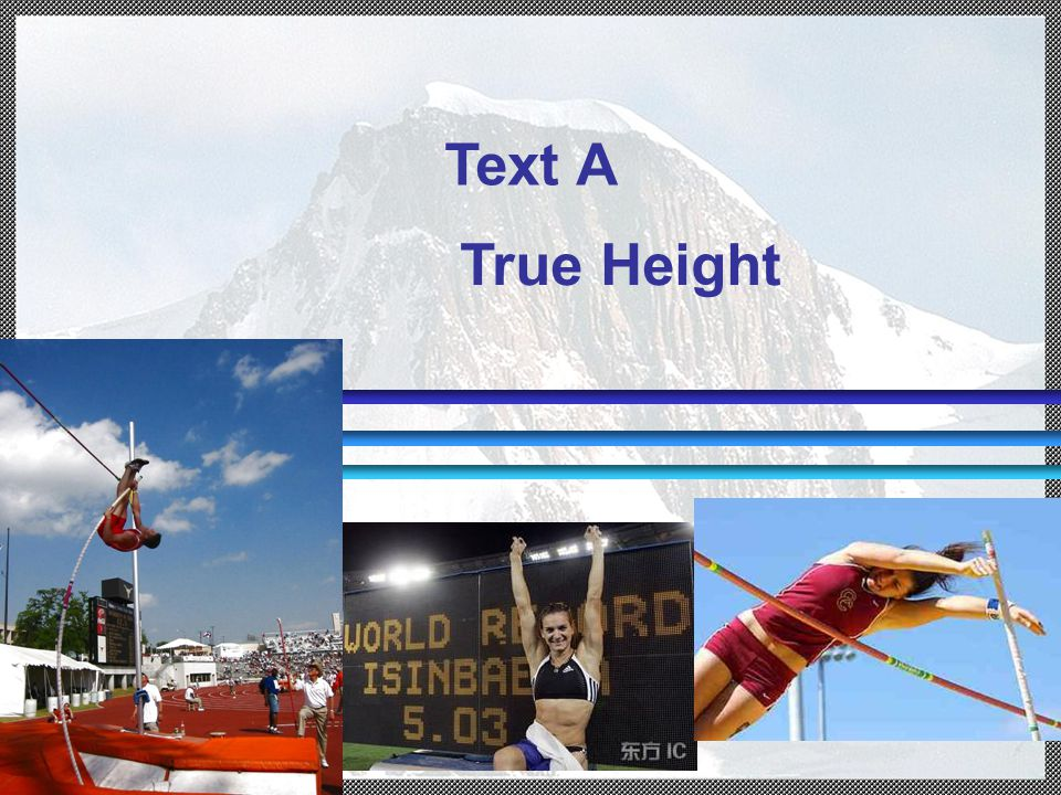 Text A True Height