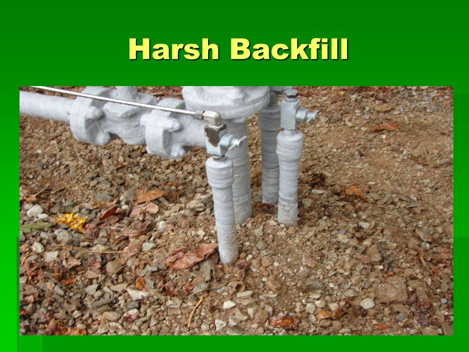 Harsh Backfill