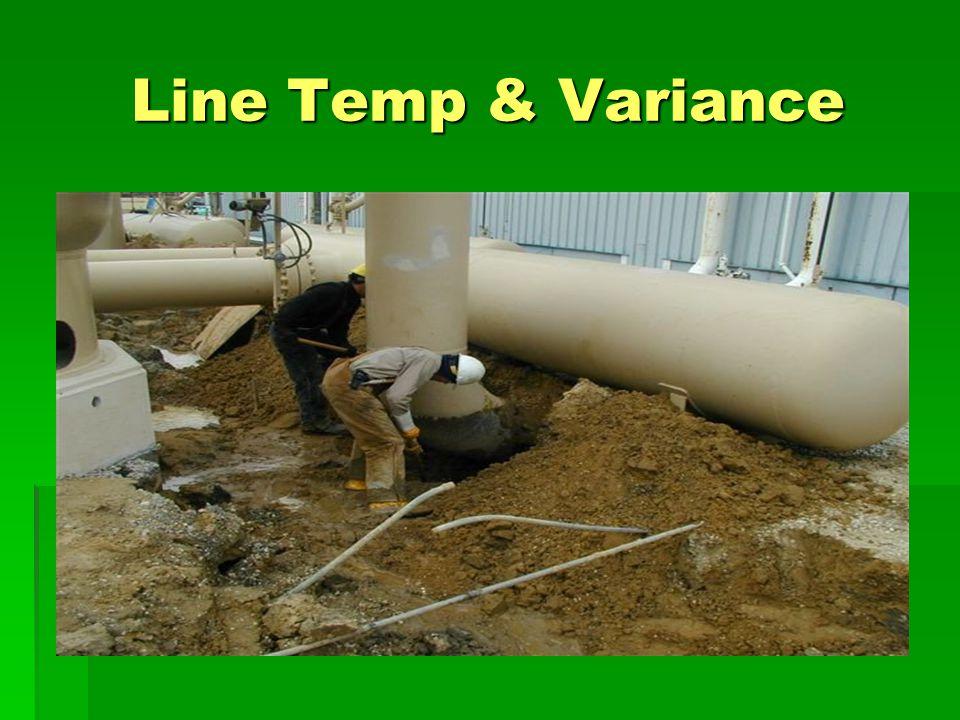 Line Temp & Variance