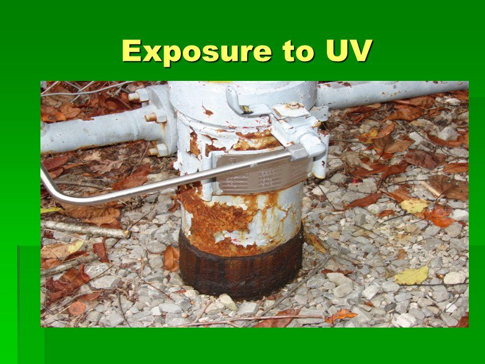 Exposure to UV