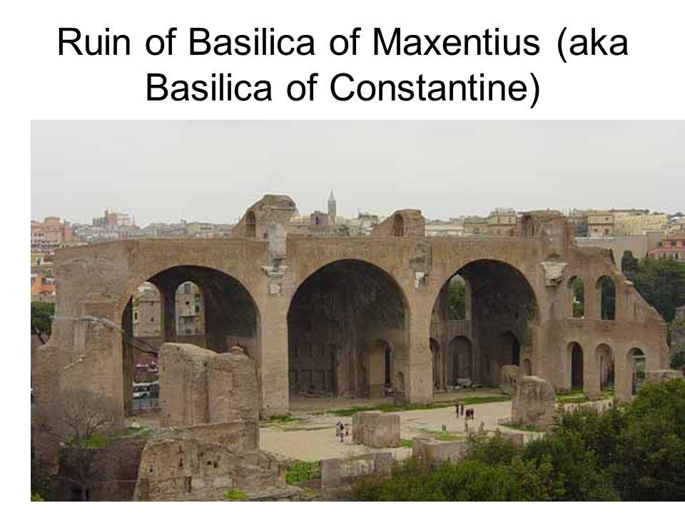 Ruin of Basilica of Maxentius (aka Basilica of Constantine)