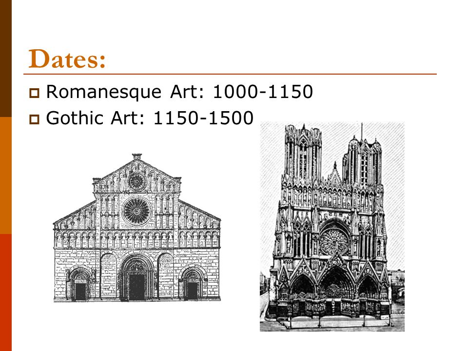 Romanesque architecture  Builders borrowed elements from Roman architecture, such as rounded arches and columns, hence the term Romanesque.
