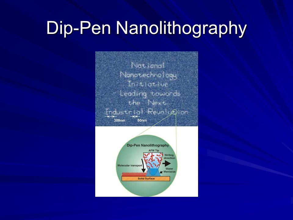 Dip-Pen Nanolithography