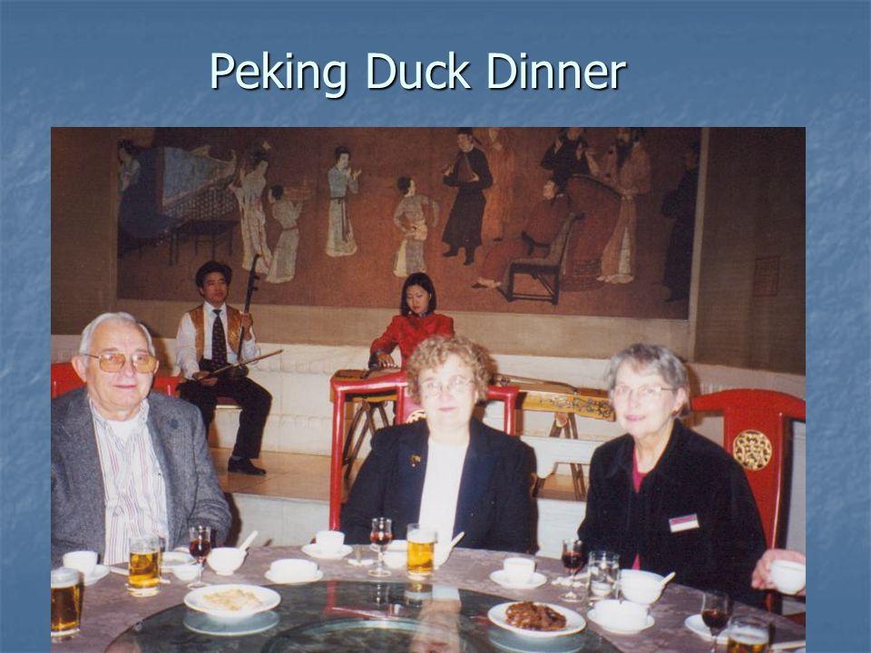 Peking Duck Dinner