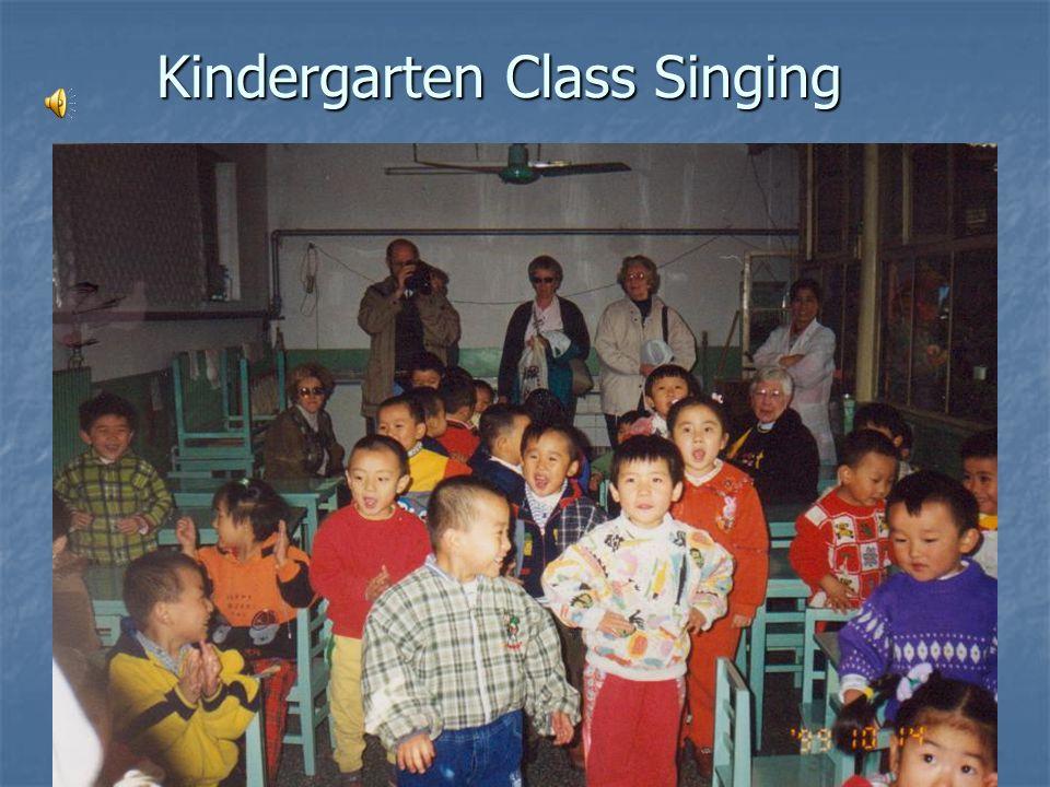Kindergarten Class Singing