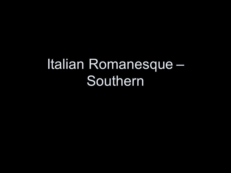 Italian Romanesque – Southern