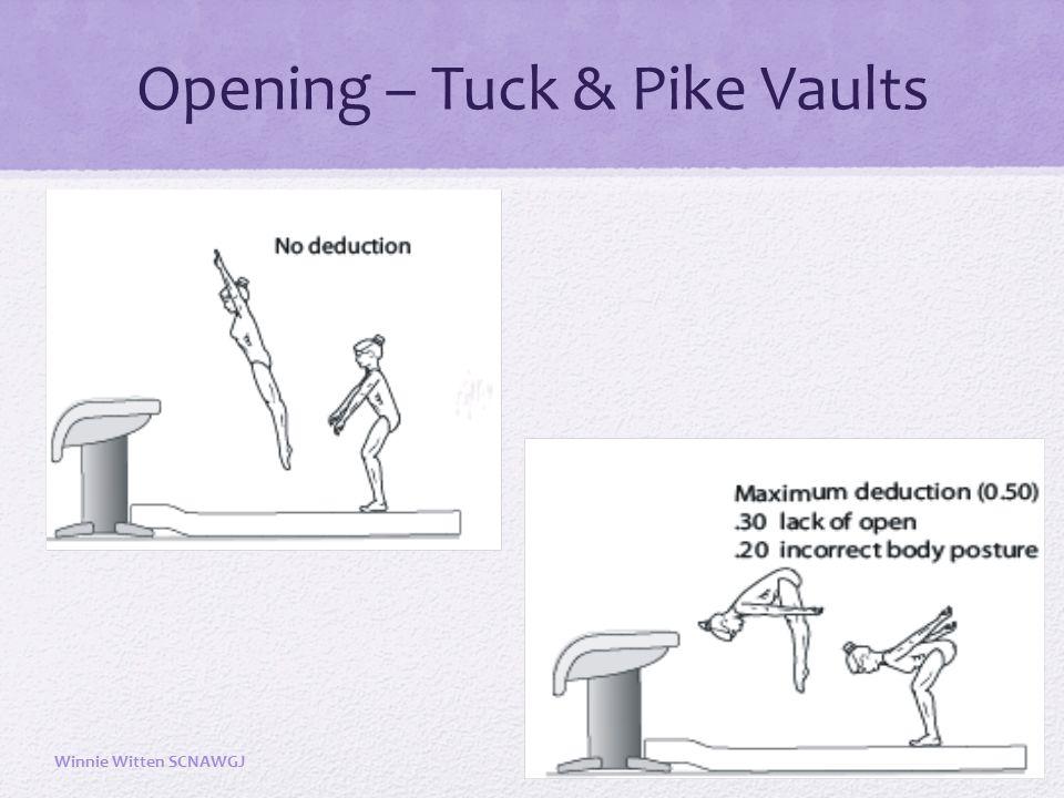 Opening – Tuck & Pike Vaults Winnie Witten SCNAWGJ