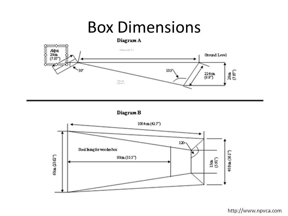Box Dimensions http://www.npvca.com