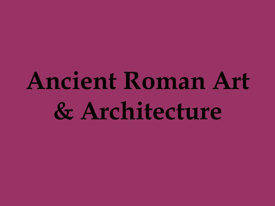 Taking of the Roman Census