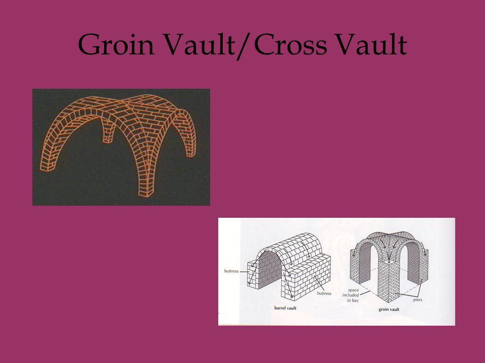 Groin Vault/Cross Vault