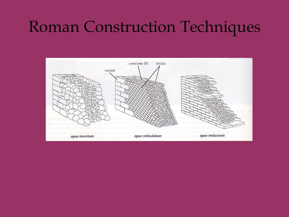 Roman Construction Techniques