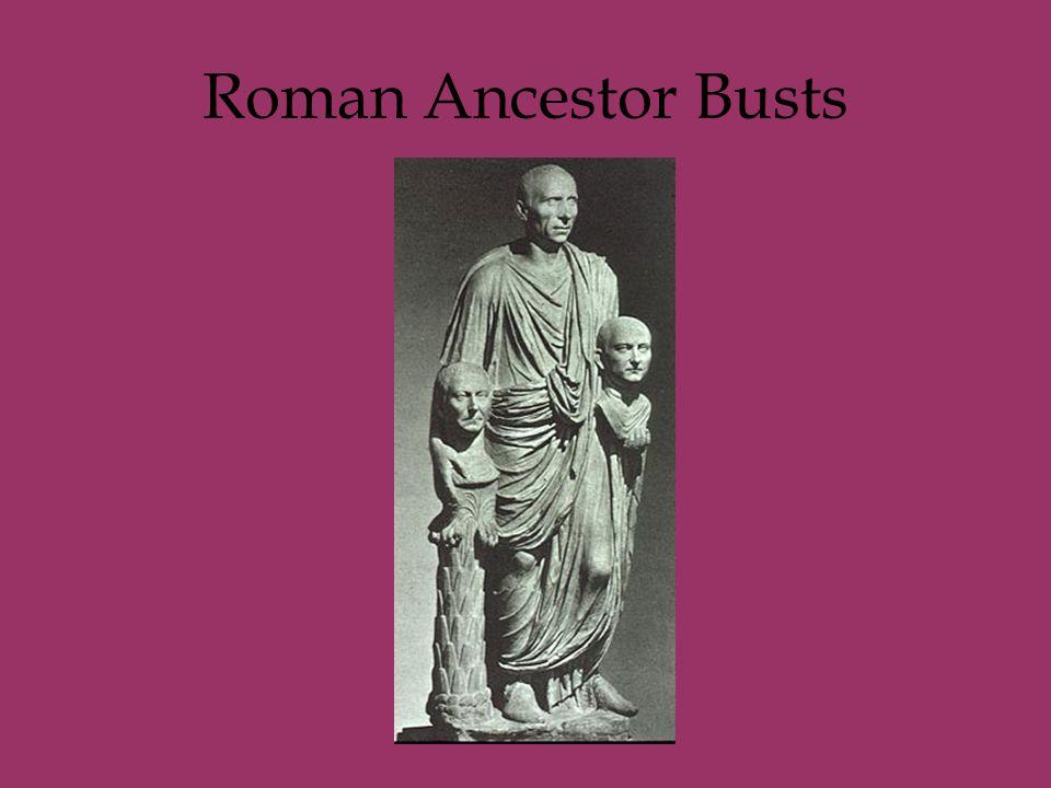 Roman Ancestor Busts
