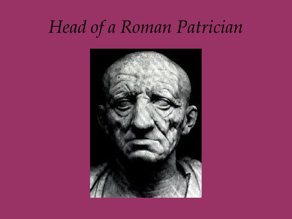 Head of a Roman Patrician