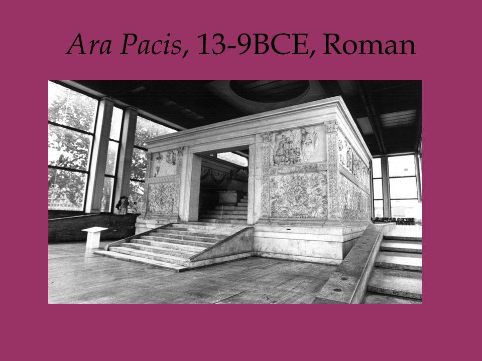 Ara Pacis, 13-9BCE, Roman