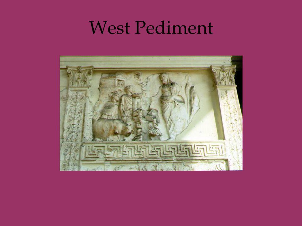 West Pediment