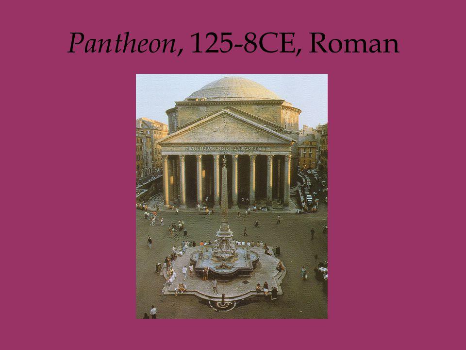 Pantheon, 125-8CE, Roman