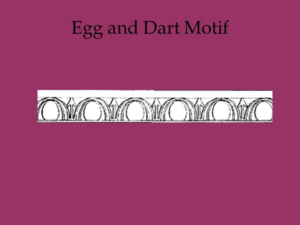 Egg and Dart Motif