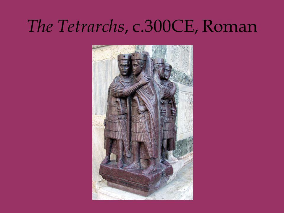 The Tetrarchs, c.300CE, Roman