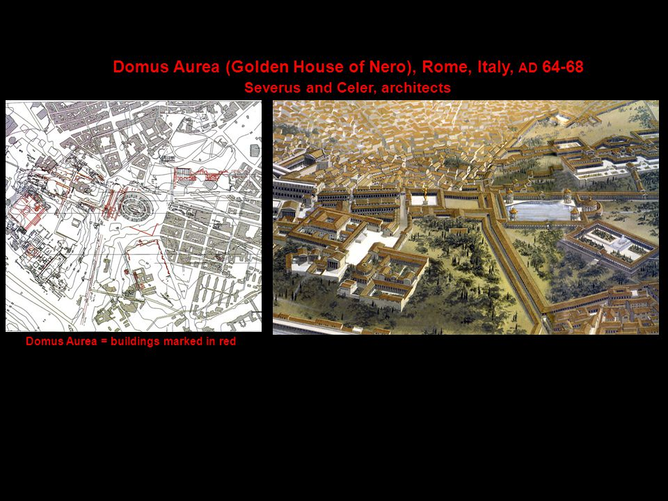 Rome is being made into a palace (Suetonius) III.