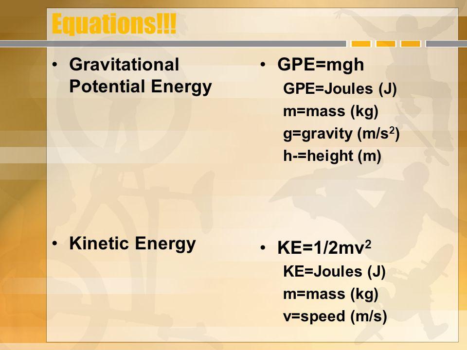 Equations!!.