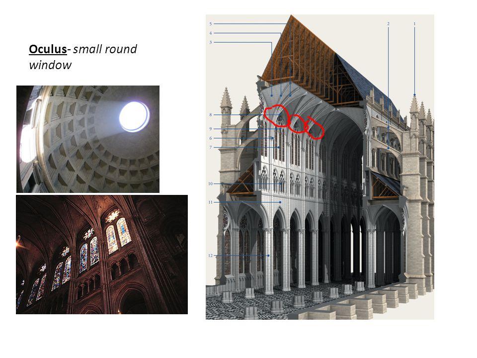 Oculus- small round window