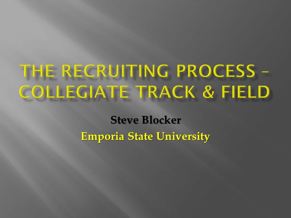 Steve Blocker Emporia State University
