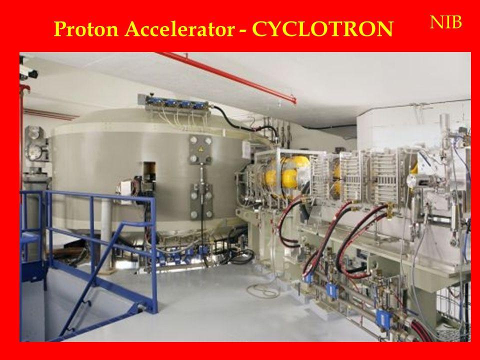 Proton Accelerator - CYCLOTRON NIB