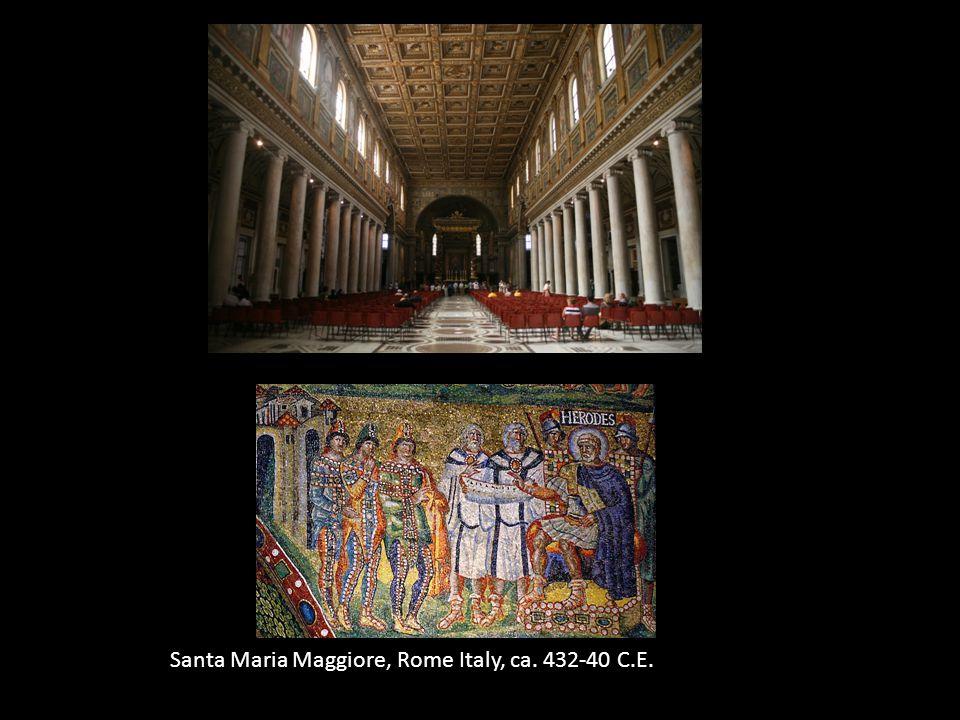 Santa Maria Maggiore, Rome Italy, ca. 432-40 C.E.