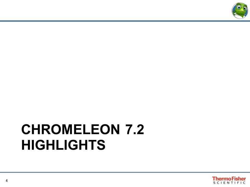 4 CHROMELEON 7.2 HIGHLIGHTS