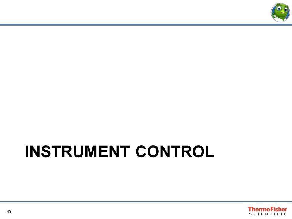 45 INSTRUMENT CONTROL