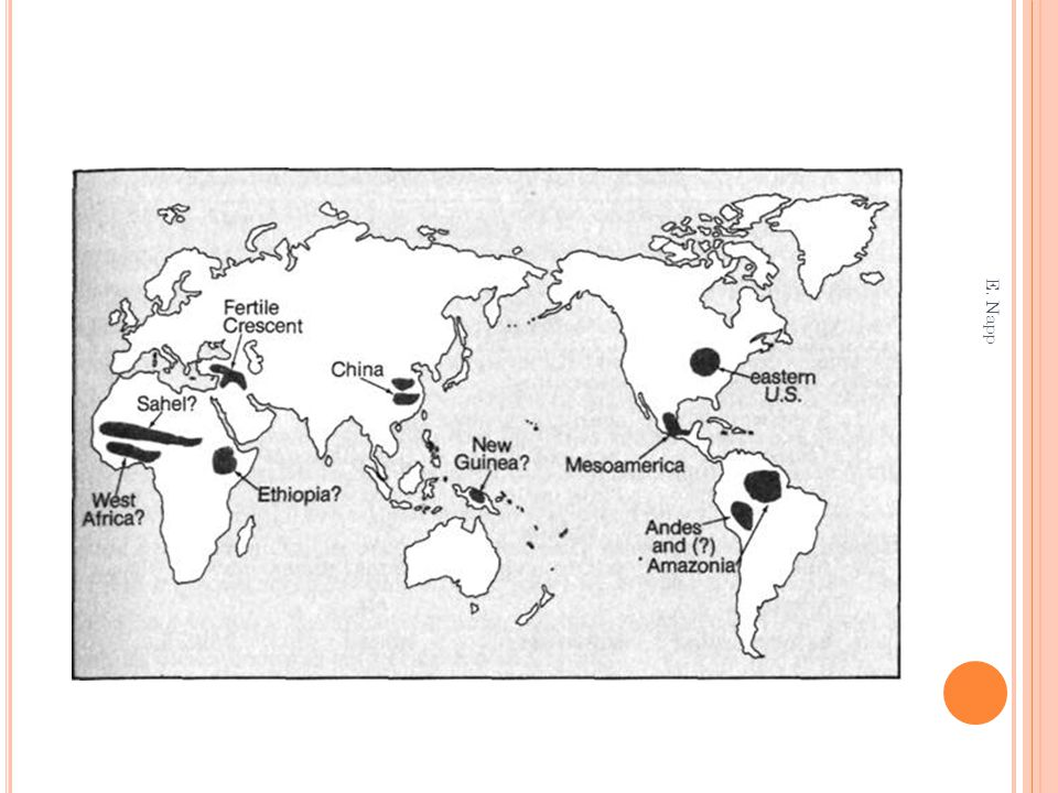 Once agriculture had taken root in few parts of the world, why did it spread almost everywhere else.
