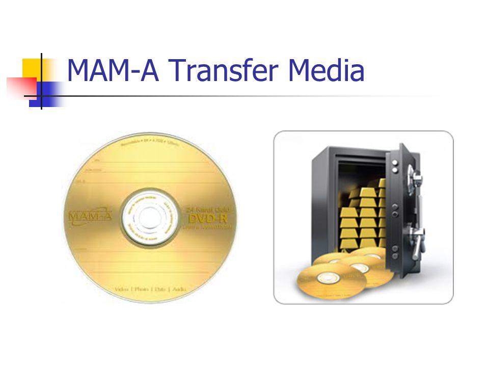 MAM-A Transfer Media