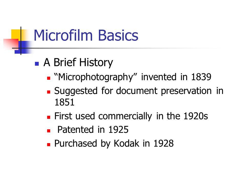 Microfilm Cameras