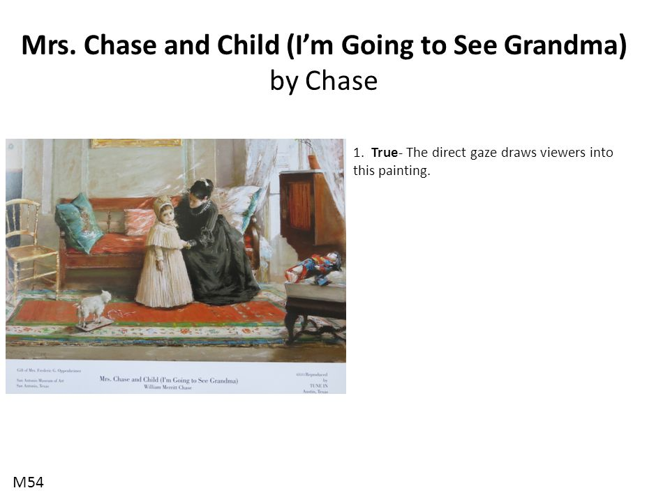Mrs.Chase and Child (I'm Going to See Grandma) by Chase 1.