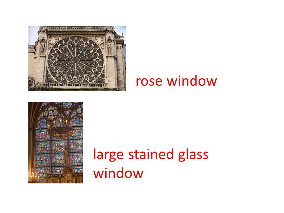 rose window large stained glass window