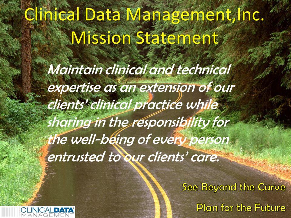 1 Clinical Data Management,Inc.