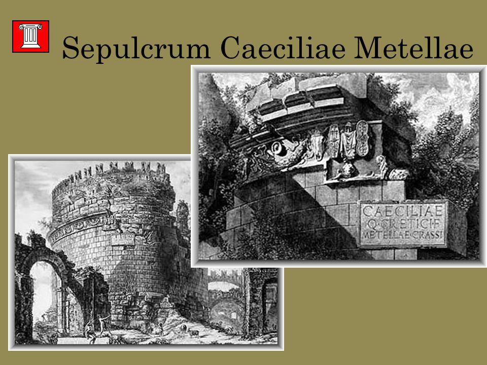 Sepulcrum Caeciliae Metellae Kupferstiche von Giovanni Battista PiranesiGiovanni Battista Piranesi