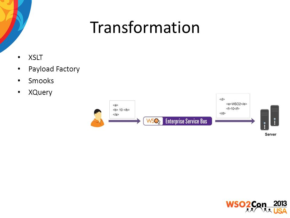 Transformation XSLT Payload Factory Smooks XQuery