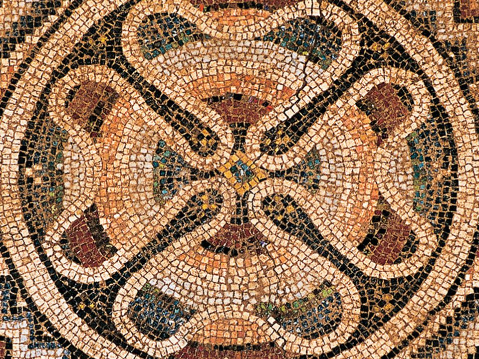 Houses  Inside a roman mansion you will find a many mosaics.
