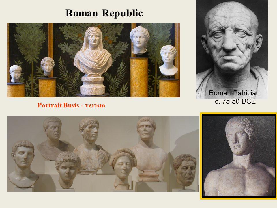Roman Patrician w.Busts of his Ancestors, 1 st cent.