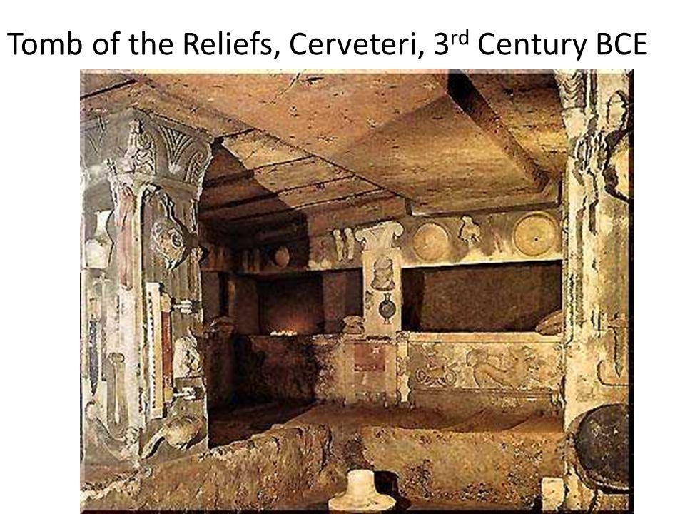 Underground Etruscan Tumulus (tumuli)