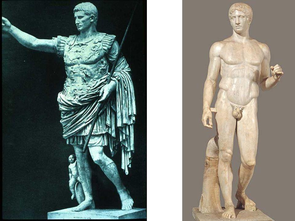 Roman, Augustus of Prima Porta, 20 BCE