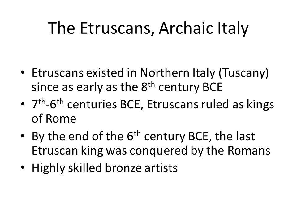 Etruscan Territories