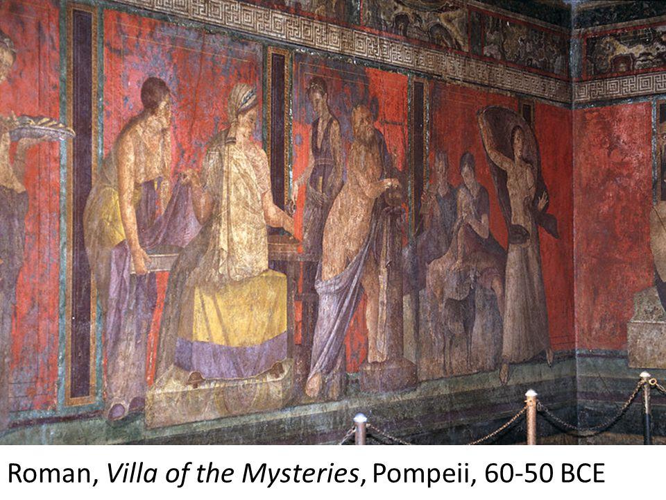 Fresco, Herculaneum, 2 nd century BCE